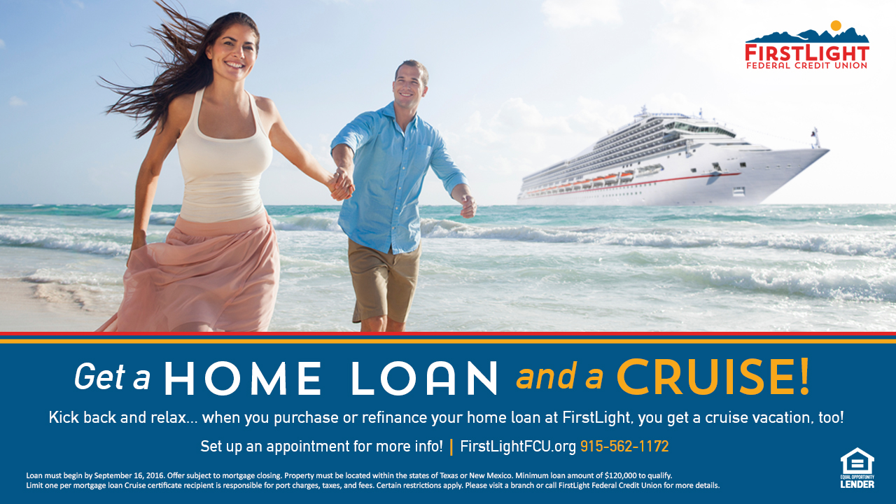 Get a Home Loan and a Cruise!