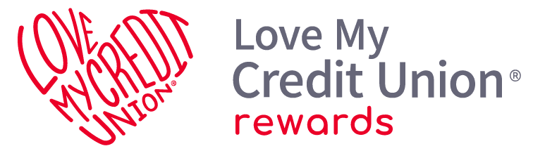 Love My Credit Union rewards logo